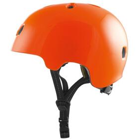 TSG Meta Solid Color Fietshelm, gloss orange